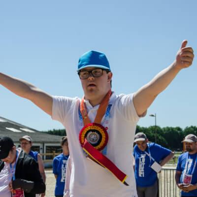 Special Olympics hero